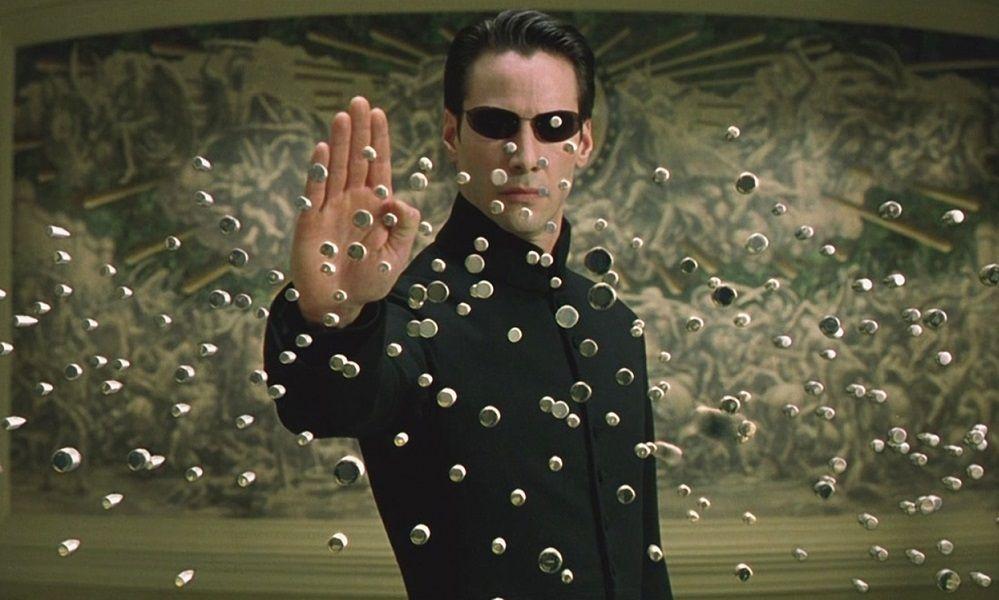 Στιγμιότυπο από την ταινία Matrix
