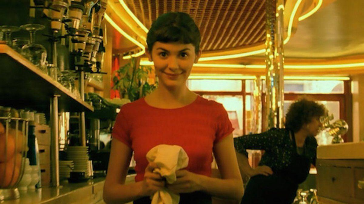 Στιγμιότυπο της πρωταγωνίστριας στην ταινία Amelie, Ωντρέ Τοτού